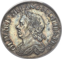 File:Coin Cromwell Shilling face.jpg